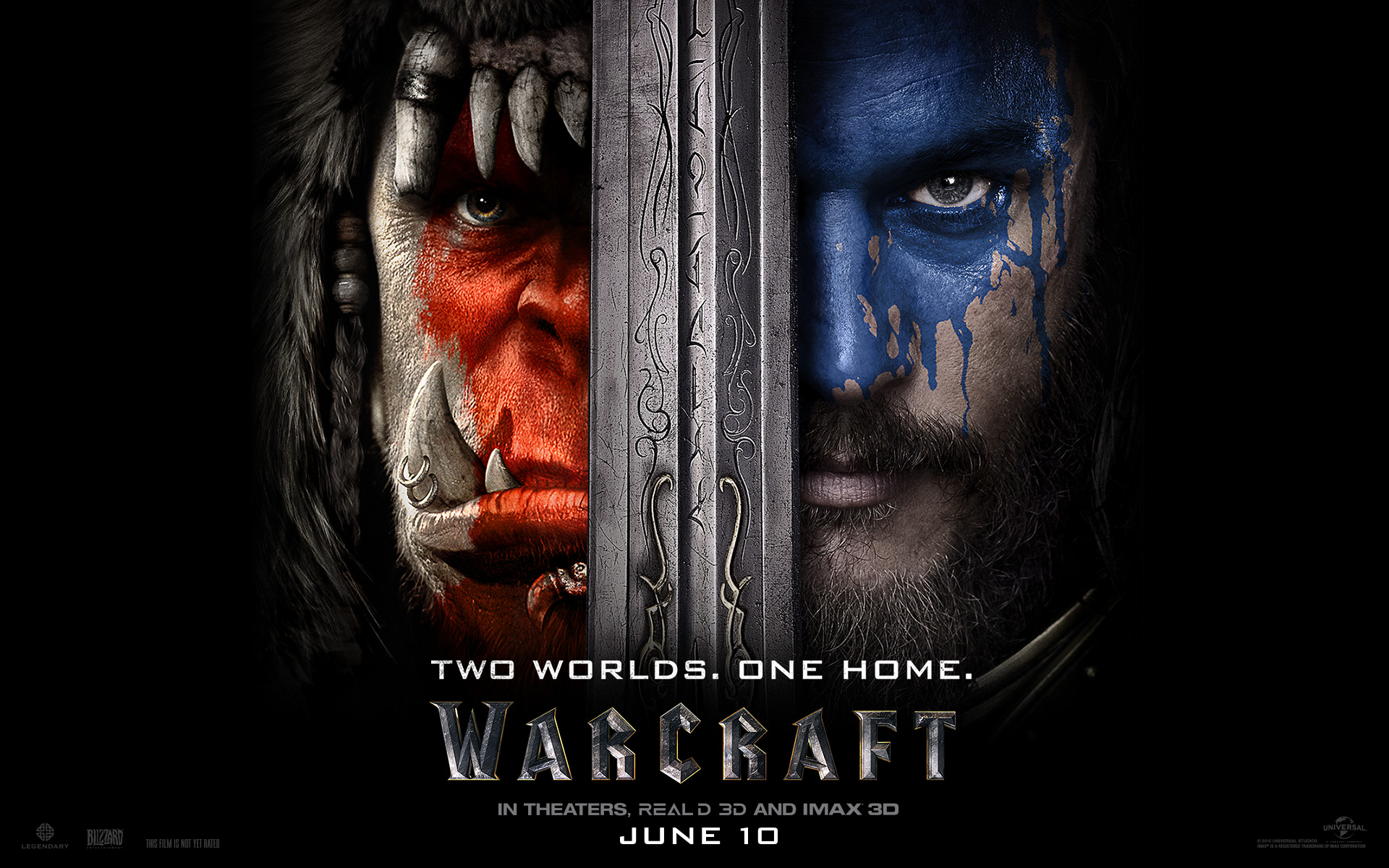 Standardní tapeta k filmu Warcraft